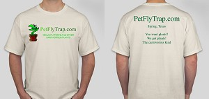 PetFlyTrap.com Full Color T-shirts, with FREE SHIPPING!